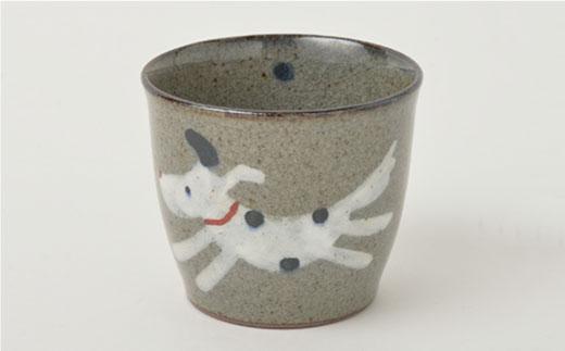 PA95 【波佐見焼】いぬ お茶ワン&そばちょこセット【福田陶器店】-6
