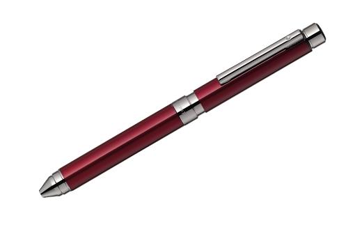 「シャーボX TS10」4軸ボールペン(色:ボルドー)