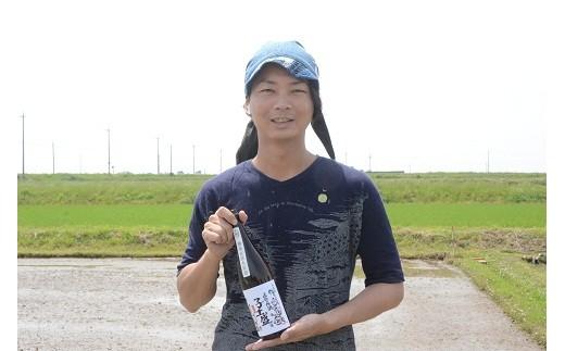 今までになかった、高浜の地酒。地域の皆さんとつくったお米でできたお酒です。