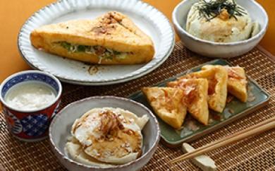 [№5706-0132]奥州涌谷名産「おぼろ豆腐」と油揚・豆乳セット
