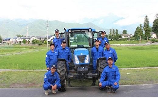安曇野の農業後継者、若手生産者の皆さん