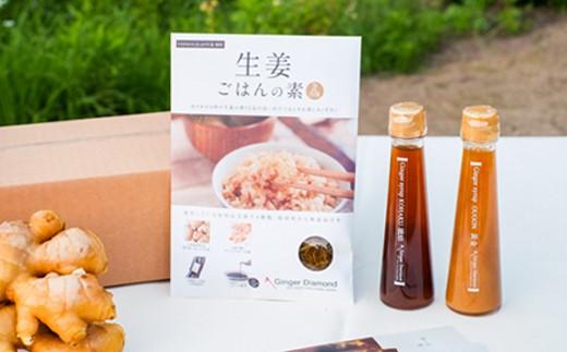 至極の生姜ごはんと人気のシロップ(100ml)×2本セット