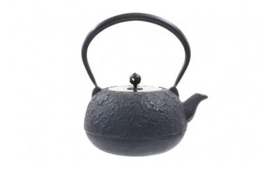 南部鉄器 鉄瓶 福型桜 1.5L 銅蓋付