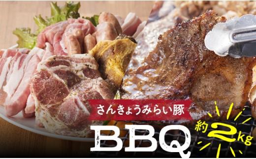 H010510さんきょうみらい豚BBQセット10月発送分
