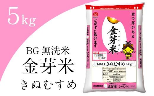 08-SS-10 BG無洗米・金芽米きぬむすめ 5kg