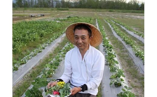 減農薬で取り組む野菜作り(おいしい菜園)