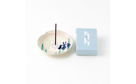 季節の香皿・お香セット(夏セット)