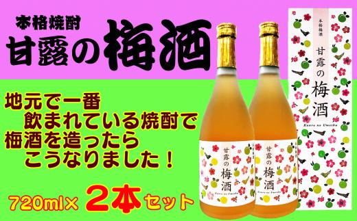 芋焼酎の旨みと梅のすっきりとした酸味が調和した、美味しい梅酒になりました!