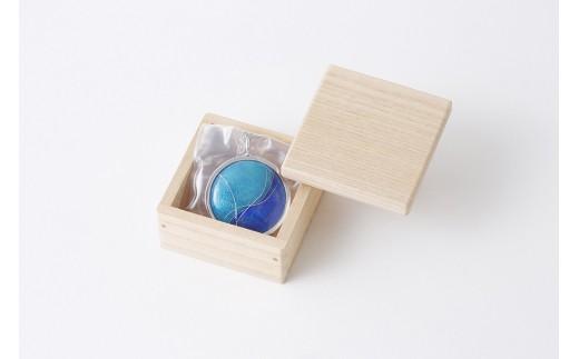 Rainbow(京七宝コラボ魔鏡ペンダント) Blue