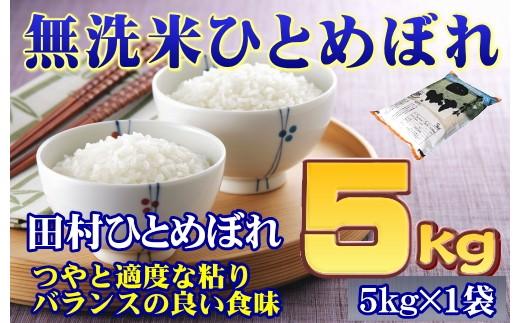 TA7-11【無洗米】福島田村産ひとめぼれ5kg