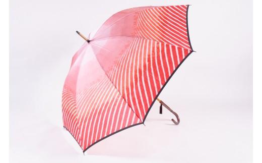 高級雨傘【赤富士】