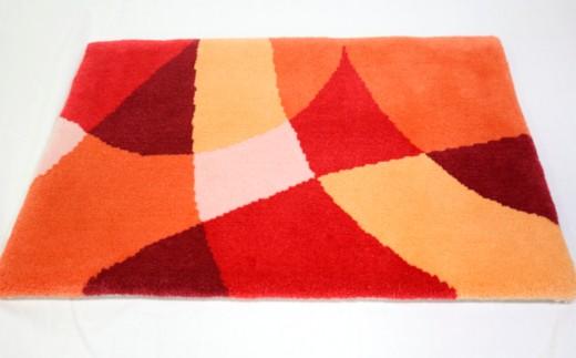 050-011-01 ダイヤ 赤×オレンジ