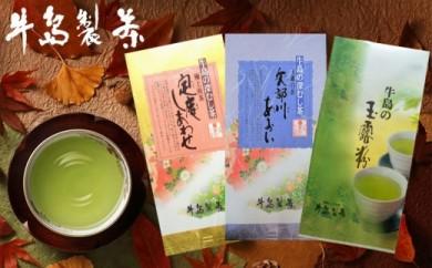 【ギフト用】八女深蒸し茶 詰合せ 100g×3本 上級煎茶(ギフト対応)