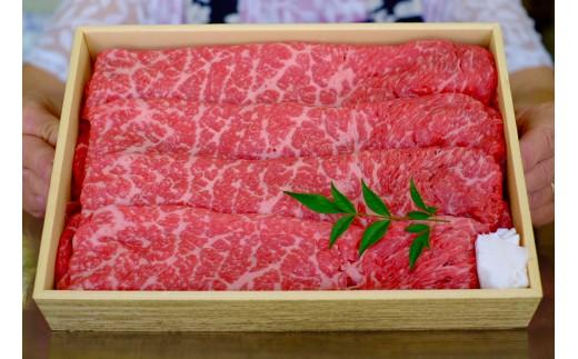 赤身の旨味とサシの甘味が伝わってきそうな綺麗なお肉です