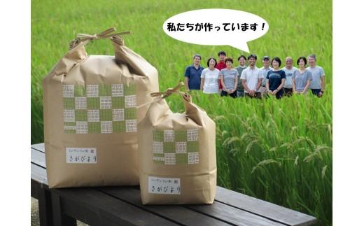 B048【30年産】【米農家の定期便】 さがびより 5kg×6カ月