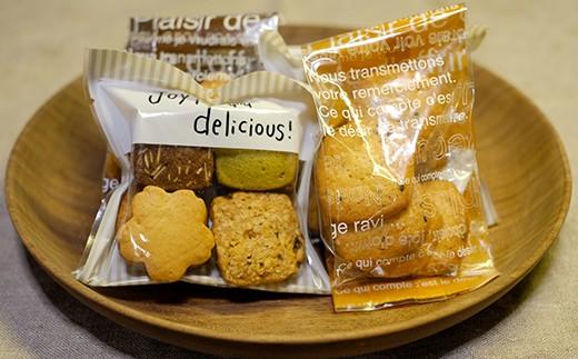 よくばりクッキー、チーズクッキー、カントリークッキー