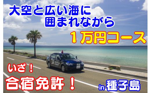 種子島自動車学校免許プラン 1万円コース 300pt NFN088