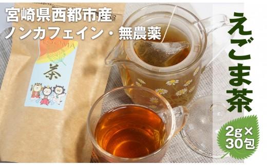 宮崎県西都市産 えごま茶(ティーパック ピラミッド型 タグ付き)<1-113>