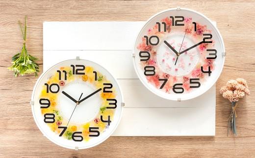 オリジナルで作る世界に一つだけ花時計