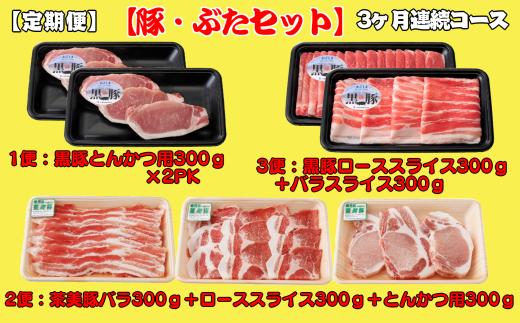 とんかつ用、しゃぶしゃぶ用などでのお届けです! お肉の種類も多く、毎月届くのが楽しみ♪