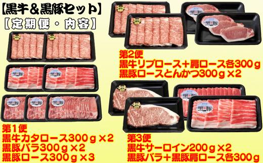 しゃぶしゃぶ用、とんかつ用、そしてサーロインステーキ! お肉の種類も多く、毎月届くのが楽しみになります♪