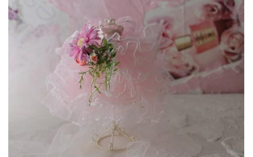 【アートフラワー】空気をきれいにする、プリンセスドール