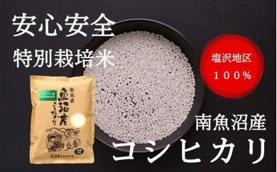 特別栽培米『南魚沼産コシヒカリ精米』【塩沢地区100%】5kg×1袋