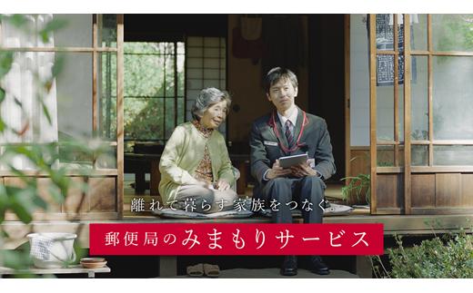 日本郵便 郵便局のみまもりサービス「みまもり訪問サービス」(12カ月)
