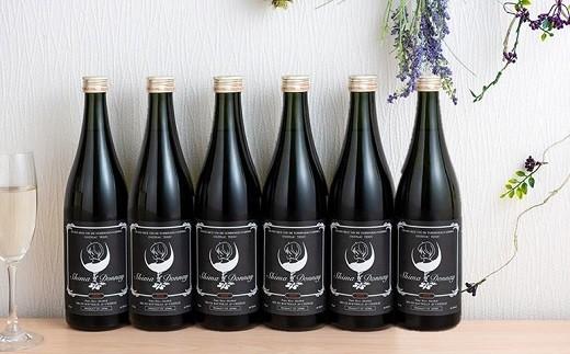 北上市産の米で醸した日本酒 シマドネ 純米吟醸 火入 6本(1本720ml)