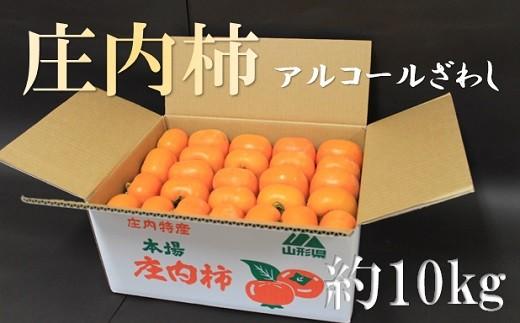 小野寺農園の庄内柿1箱約10kg