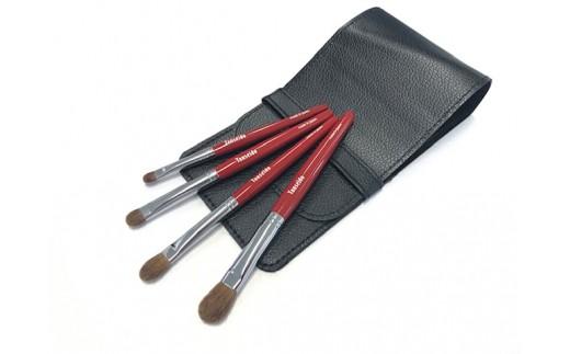 化粧筆 アイシャドウ4本セット