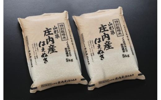 令和元年産庄内米特別栽培米はえぬき10kg<JA庄内みどり>