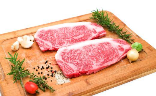 【3月】黒毛和牛4等級ロースステーキ 500g