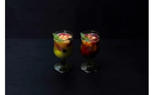 メロンの自家製サングリア 白/赤 ※ノンアルコールのものもございます