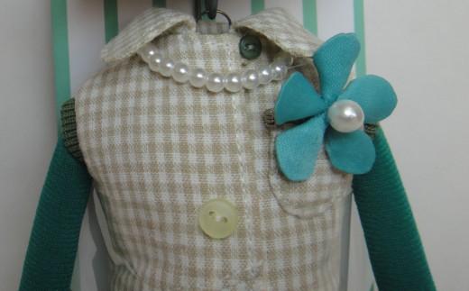 ZY018人形ドレスセットC