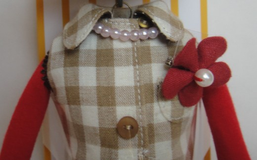 ZY019人形ドレスセットD
