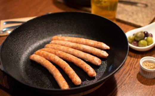 きたかみ産ブランド豚 「四元豚」の生ウインナー 30g×6本 3パック