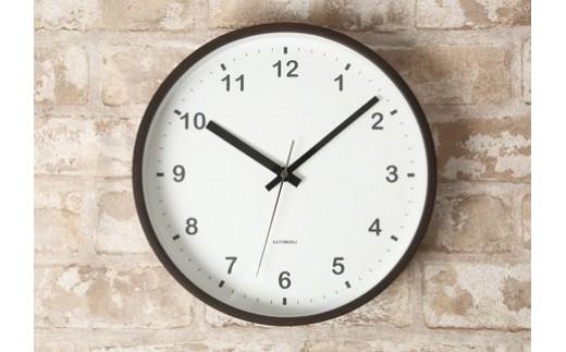 【A-40】KATOMOKU 曲げわっぱ掛け時計