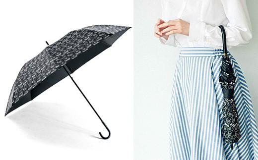 長傘なのにたためばコンパクト ゆるり猫の晴雨兼用ショートワイド傘