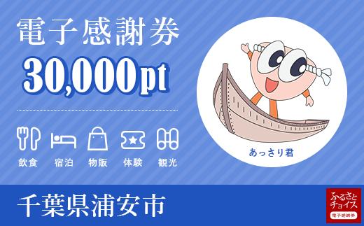 旅行・食事・宿泊などに使える!浦安市 電子感謝券 30,000ポイント