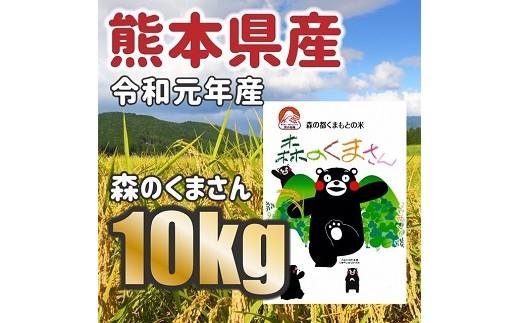 令和元年産★熊本県産 森のくまさん 10kg