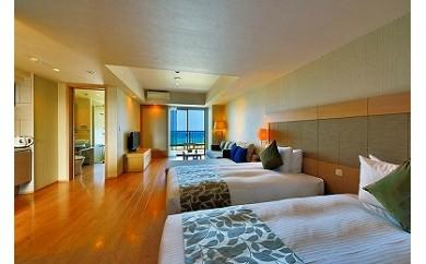 【長期滞在プラン】ムーンオーシャン宜野湾ホテル&レジデンス デラックスツインに6泊7日のご宿泊(朝食付き)