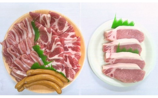 922.ケンボロー芙蓉ポーク焼き肉&ステーキ肉