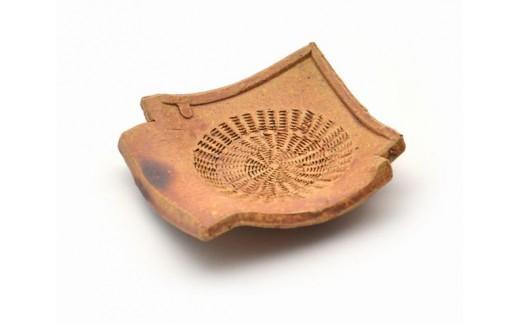 995.創業210年 石州瓦窯元が造る「瓦小皿 生わさび用」2個セット