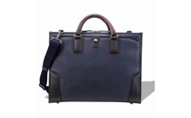 ビジネス 豊岡鞄 craftsmanship3方OP(ネイビー)