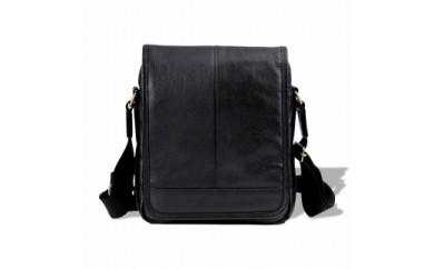豊岡鞄 皮革縦型フラップSD(ブラック)