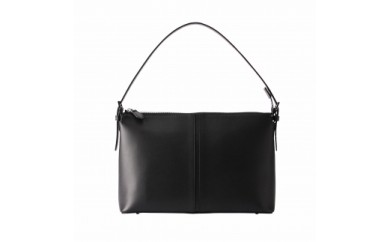 天ファスナーフォーマルバッグ 豊岡鞄 TOTTE(ブラック)