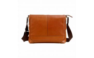 豊岡鞄 皮革横型フラップSD(ブラウン)