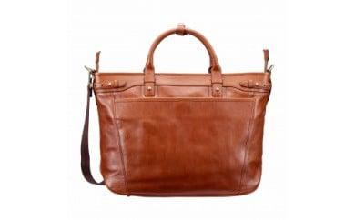ビジネス 豊岡鞄 皮革ビジネストート(ブラウン)