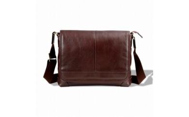 豊岡鞄 皮革横型フラップSD(チョコ)